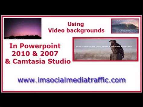movie themes for powerpoint 2010 using video backgrounds in powerpoint 2010 2007 and