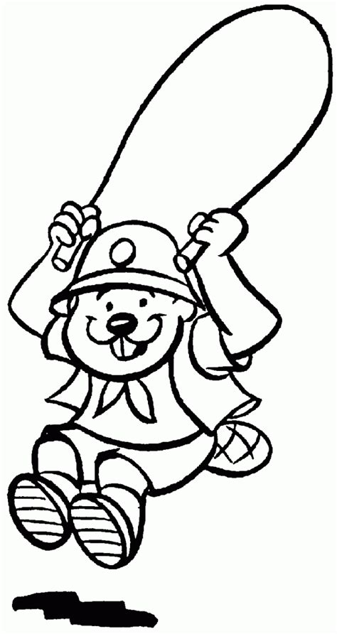 Tiger Cub Scout Coloring Pages Coloring Home Scouts Coloring Pages