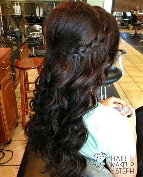 hairstyles with curls and bump cute braid and bump w curls hairstyles pinterest
