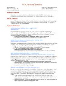 personal banker resume sample best template collection