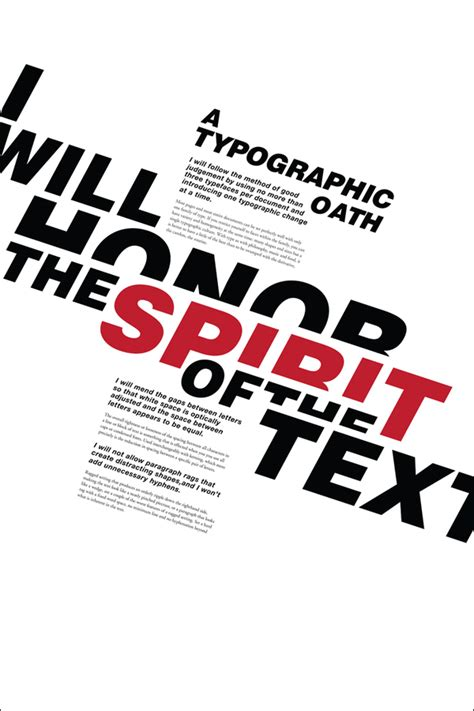 graphic design text layout inspiration typography mania 19