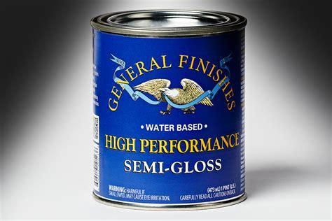 general finishes semi gloss high performance polyurethane