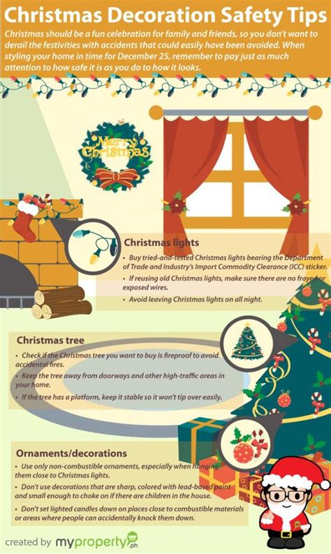 top 5 christmas decoration infographics