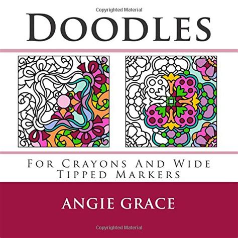 coloring book for adults markers doodles for crayons and wide tipped markers