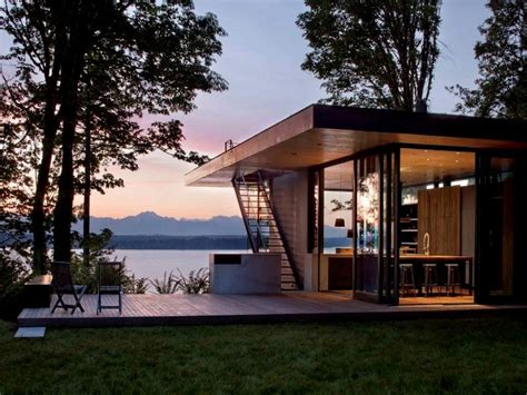 Contemporary Lake House Plans by Contemporary Lake House Plans Modern Lake House Design