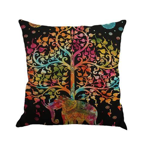 bohemian couch cover bohemian mandala elephant pillow case cover sofa waist