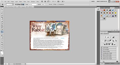 adobe photoshop white rabbit tutorial dunia maya 2015 03 22