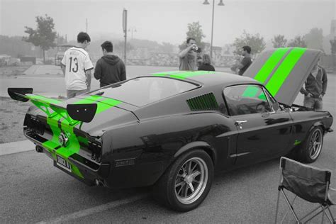 zombie 222 electric 68 fastback ford mustang electric classic muscle car youtube