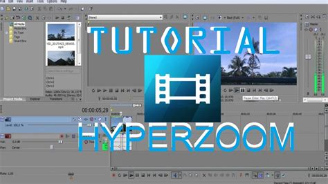 cara membuat intro video sony vegas tutorial hyperzoom sony vegas cara membuat effect