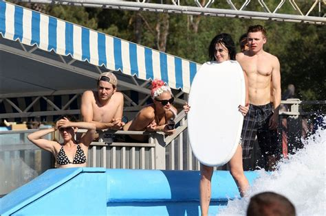 katy perry water park katy perry bikini bottoms fall down at the water park in