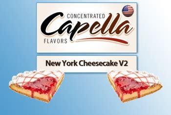 Capella 4 Oz New York Cheesecake V2 Flavor Bulk Size capella new york cheesecake v2 aroma smart24 net