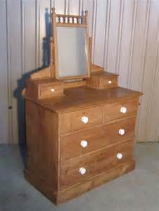 Chest Of Drawers And Dressing Table A Pine Dressing Table Chest Of Drawers