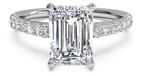4 vintage inspired emerald cut engagement rings ritani