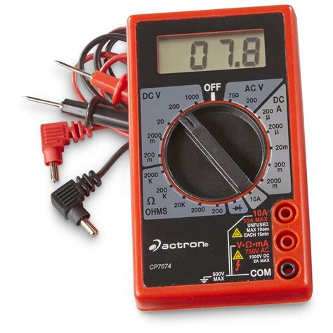 Actron Automotive TroubleShooter Digital Multimeter and