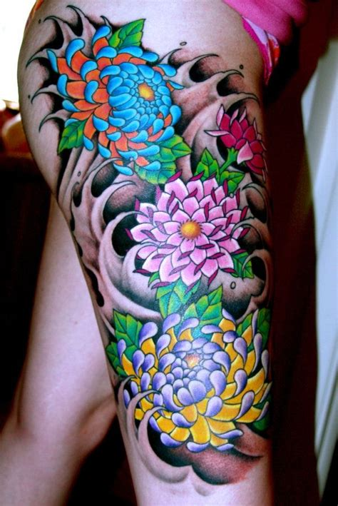 japanese flower tattoo design best 25 japanese flower ideas on