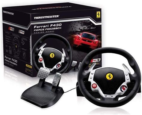 volante f430 volant thrustmaster f430 feedback pc