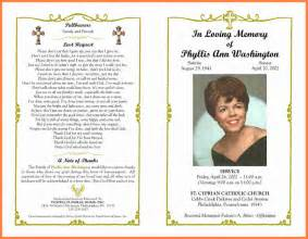 Free Obituary Program Template by 7 Obituary Programs Invoice Exle 2017