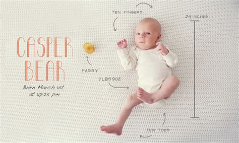 The Modern Way To Announce A Birth Baby Momento by 10 Creative Birth Announcement Photo Ideas You Ll