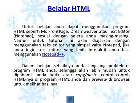 tutorial membuat web html dengan notepad cara membuat html desma susanti