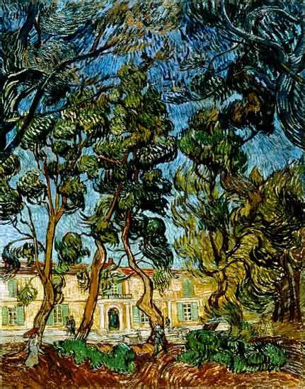 nel giardino alberi nel giardino dell ospedale di st paul vincent