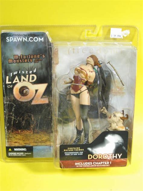 Dorothy Variant Twisted Land Of Oz Us Card Dorothy With Munchkin Variant Dash