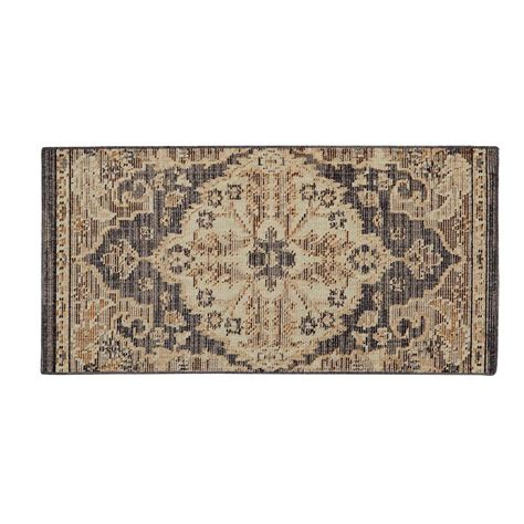 home accent rug collection home decorators collection livia blue beige 2 ft x 4 ft