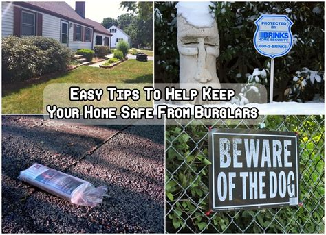 easy tips to keep your home safe from burglars diy craft