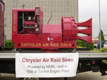 Chrysler Air Raid Siren For Sale by Chrysler Air Raid Siren Restored Hemmings Daily