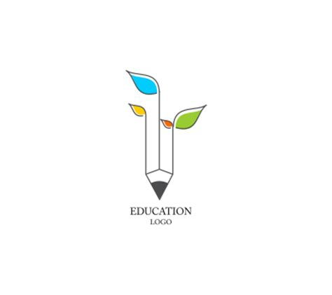 free logo design for educational institutes education leaf school inspiration vector logo design