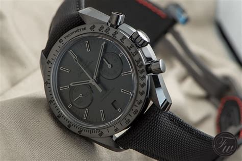 Omega Black speedy tuesday we a look at the new ceramic