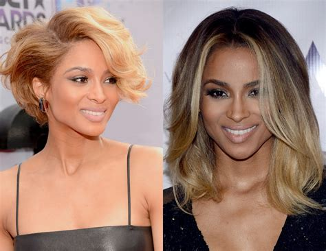 long hair vs medium hair ciara long hair vs short hair iamsupergorge hair do s