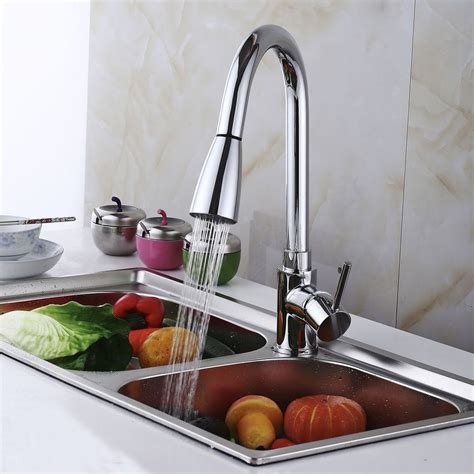 kitchen sink faucet with pull out spray kitchen sink faucet with pull out spray 28 images