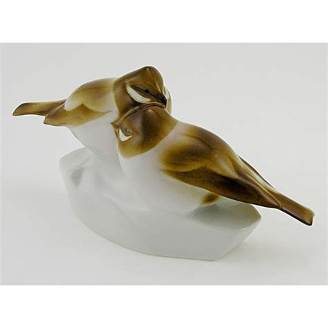 bird figures vintage zsolnay bird figurine zsolnay shop usa