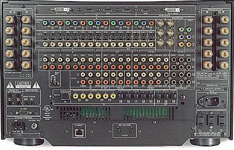 av receiver tech sound vision