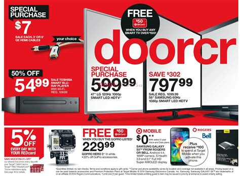 Target Gift Card Sale Black Friday - target black friday canada 2014 flyer sales and deals black friday canada