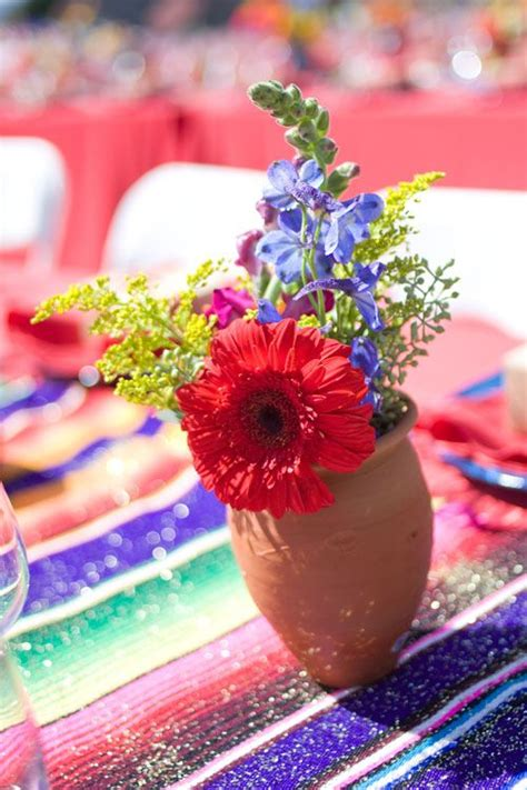 mexican table centerpieces 25 best ideas about mexican centerpiece on