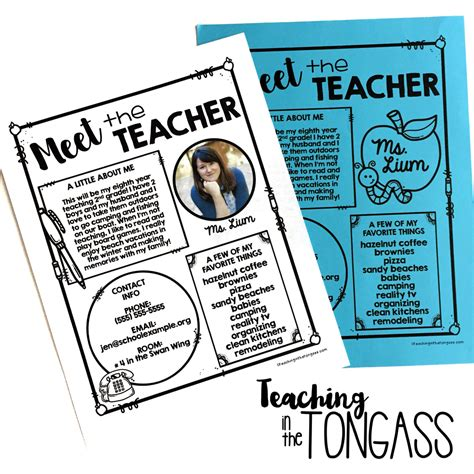 meet the letter template surviving the week of school teaching in the tongass