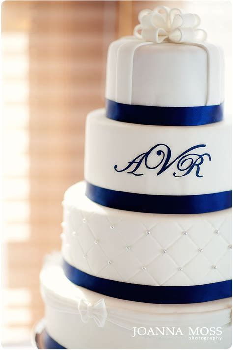 30 best images about Blue and silver wedding cakes on