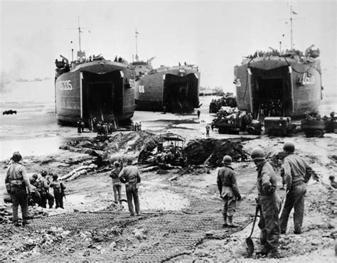 boat shipping utah allied infantry army units unload supplies including