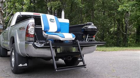 viba seat sit on tailgate of your truck inside tailgating