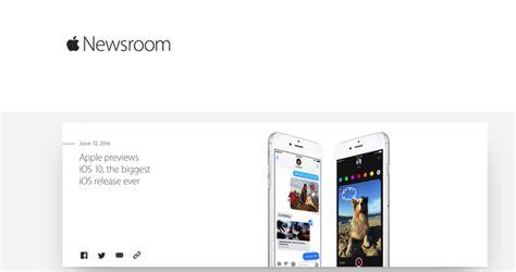 apple newsroom apple debuts newsroom web page for journalists iphone