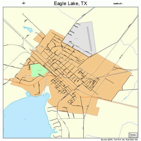 texas eagle map eagle lake texas map 4821844