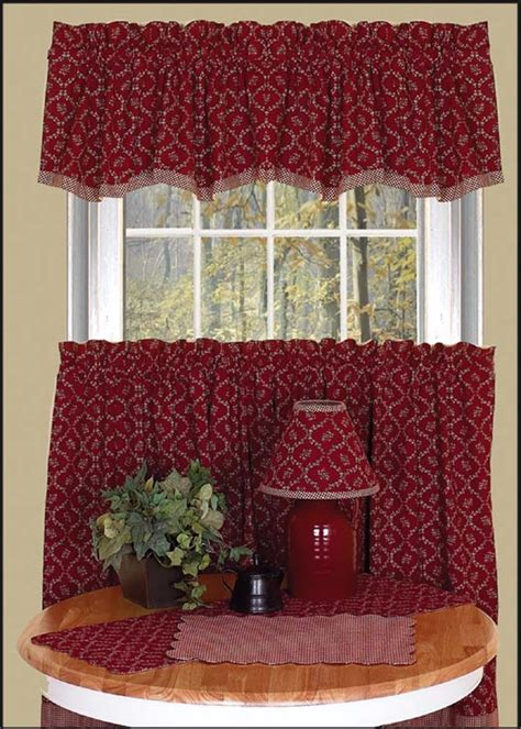 Country Style Window Curtains Country Style Curtains