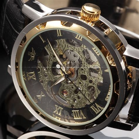 aliexpress buy black gold clock relogios