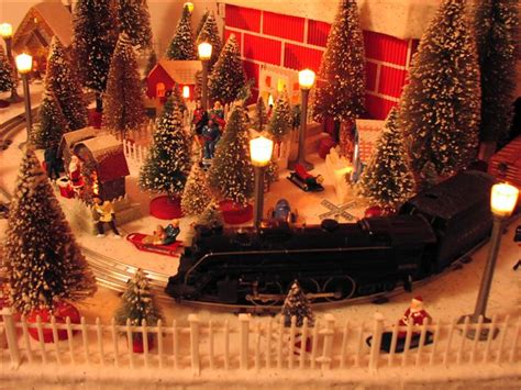 layout for christmas village christmas village putzes and train layouts submitted for 2003