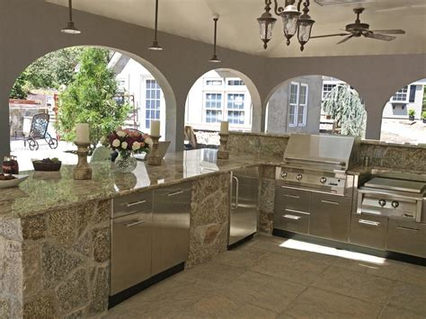 home outdoor kitchen design outdoor kitchens danver stainless steel cabinetry page 2