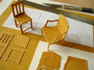 cardboard furniture templates model basics construction davidneat