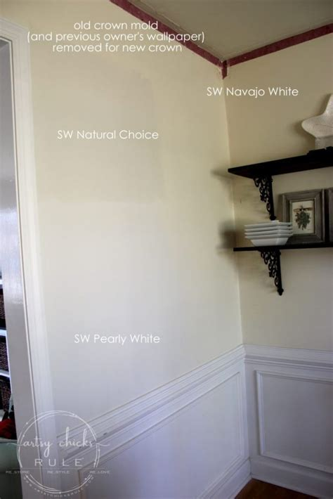 SW Natural Choice or SW Pearly White (and more updates