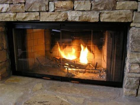 heatilator fireplace doors black 36 series glass doors