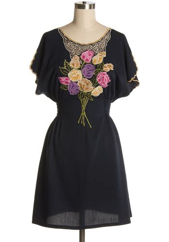 Local Florist by Local Florist Dress 69 71 S Vintage Style